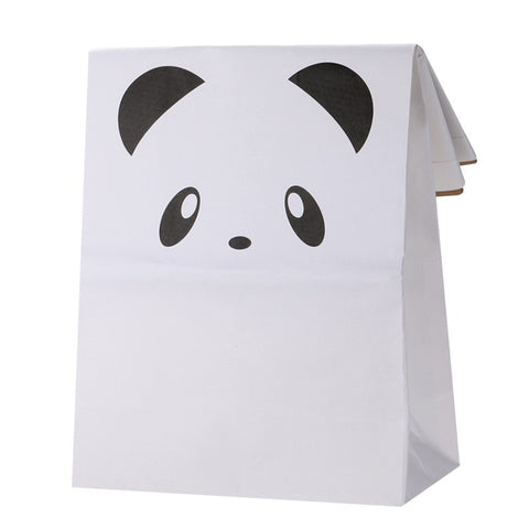 Home & Me Panda Kraft Storage Bag, Storage, Home & Me, nursery, kids, babies, presents, gifts - Home & Me