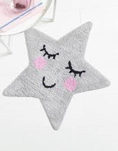 Sass & Belle Grey Star Rug, Soft Furnishing, Sass & Belle, nursery, kids, babies, presents, gifts - Home & Me