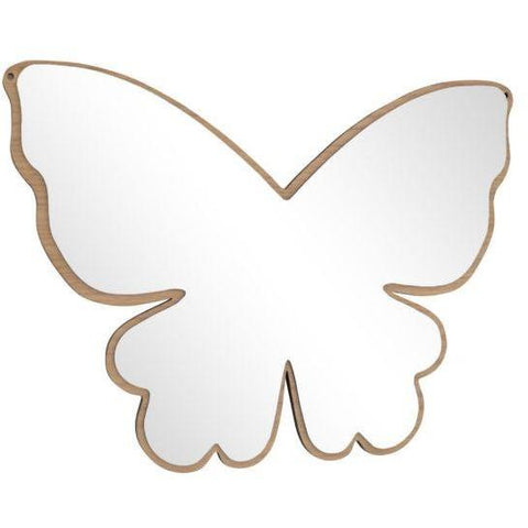 Mase Living Butterfly Mirror, Mirror, Mase Living, nursery, kids, babies, presents, gifts - Home & Me