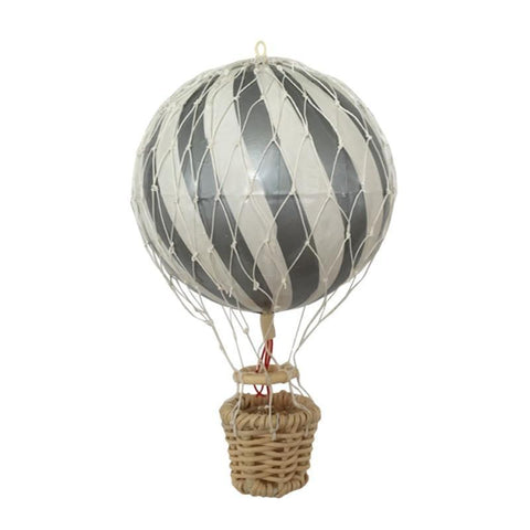 Filibabba Hot Silver Air Balloon, , Filibabba, nursery, kids, babies, presents, gifts - Home & Me