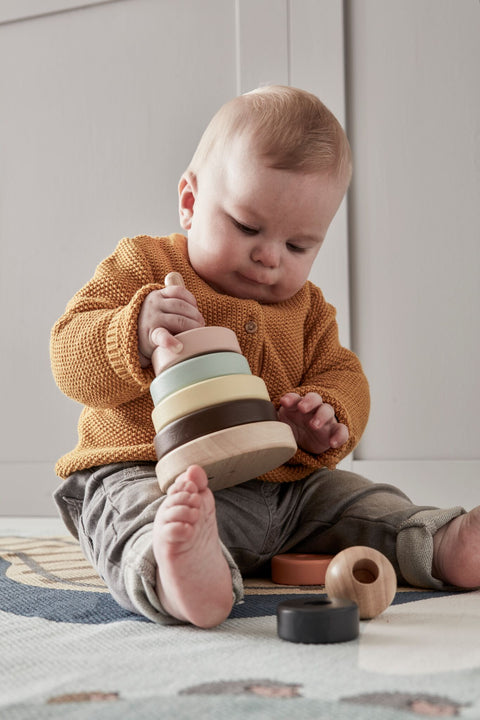Kids Concept - Stacking rings Neo, Wooden Toys, Kids Concept, nursery, kids, babies, presents, gifts - Home & Me