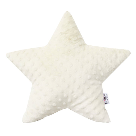 Spinkie Ivory Star Cushion, Soft Furnishing, Spinkie, nursery, kids, babies, presents, gifts - Home & Me