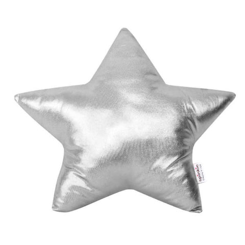 Spinkie Silver Star Cushion, Soft Furnishing, Spinkie, nursery, kids, babies, presents, gifts - Home & Me