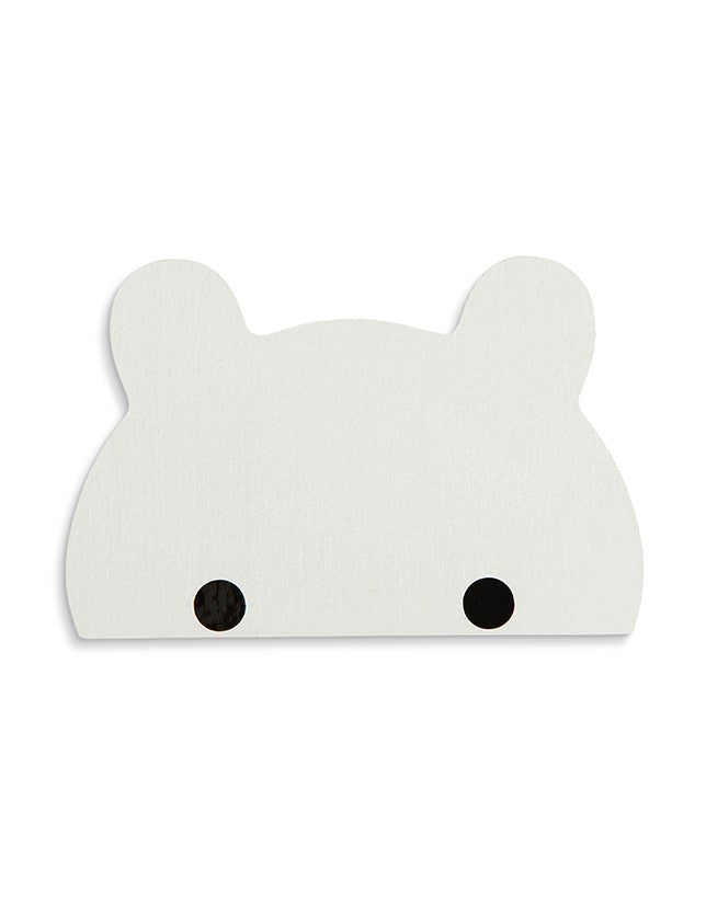 That's Mine White Bear Wall Hook, Furnishing, That's Mine, nursery, kids, babies, presents, gifts - Home & Me