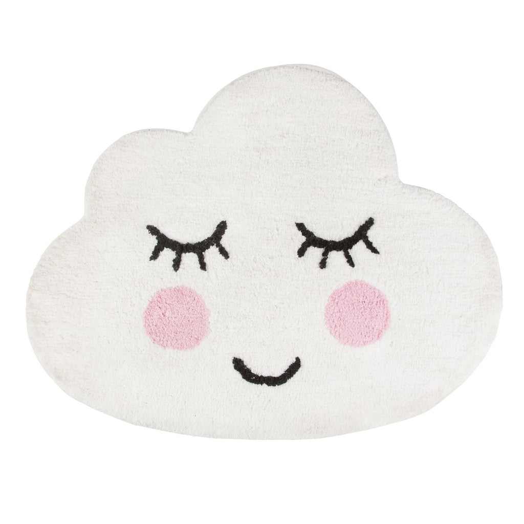 Sass & Belle Smiling Cloud Rug, Soft Furnishing, Sass & Belle, nursery, kids, babies, presents, gifts - Home & Me