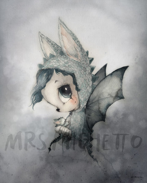 Mrs Mighetto The Lake Stories 'Mr Edward', Wall Art, Mrs Mighetto, nursery, kids, babies, presents, gifts - Home & Me