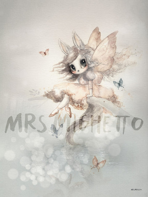 Mrs Mighetto The Lake Stories 'Miss Eva', Wall Art, Mrs Mighetto, nursery, kids, babies, presents, gifts - Home & Me