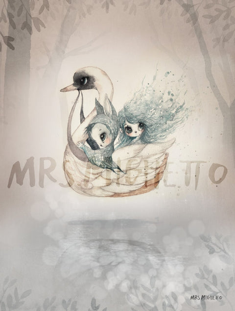 Mrs Mighetto The Lake Stories '2-Pac Bianca/Swan Boat'