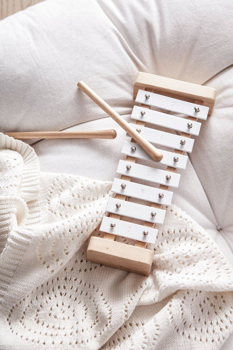 Kids Concept - Xylophone White, Wooden Toys, Kids Concept, nursery, kids, babies, presents, gifts - Home & Me