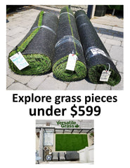Great Unique Larger Pieces and Roll Ends between $299.99 and $599.99... keep exploring: yard works, garden trims, trade shows, balconies, marketing displays