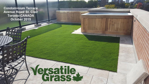 Synthetic Artificial Realistic Grass Turf For Sale Toronto