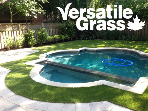 pool backyard Versatile synthetic artificial grass turf Toronto GTA Ontario