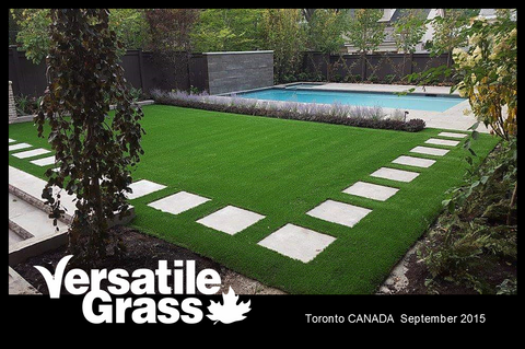 Versatile synthetic artificial grass turf Toronto GTA Ontario