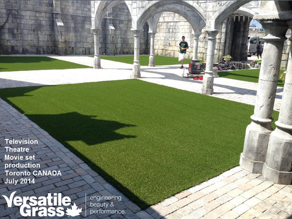 movie television theatre Versatile synthetic artificial grass turf Toronto GTA Ontario