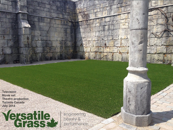 movie television Versatile synthetic artificial grass turf Toronto GTA Ontario