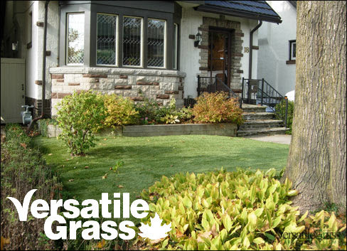 front yards lawns Versatile synthetic artificial grass turf Toronto GTA Ontario