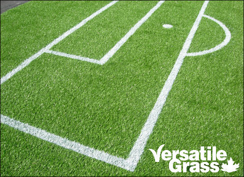 soccer lines painted Versatile synthetic artificial grass turf Toronto GTA Ontario