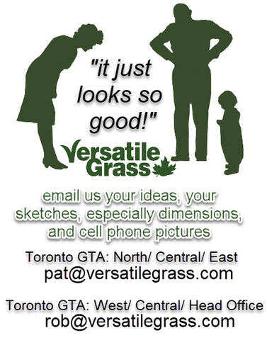 contact us Versatile synthetic artificial grass turf Toronto GTA Ontario