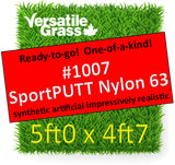 Piece #1007 SportPUTT Nylon 63 5ft0 x 4ft7 Synthetic Artificial Grass ELM