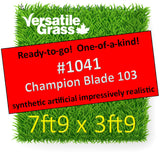 Piece #1041 Champion Blade 103 7ft9 x 3ft9 synthetic artificial grass SSTOR