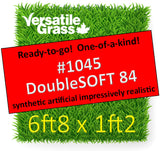 Piece #1045 DoubleSOFT 84  6ft8 x 1ft2 synthetic artificial grass ELM