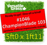 Piece #1046 Champion Blade 103 5ft0 x 1ft11 synthetic artificial grass ELM