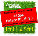 Piece #1056 Palace Plush 90 1ft11 x 5ft1 synthetic artificial grass ELM