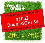 Piece #1062 DoubleSOFT Fineblade 84 2ft6 x 7ft0 synthetic artificial grass ELM