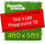 TAG#180 Playground 70 Synthetic Artificial Grass 4ft x 5ft9 SStor