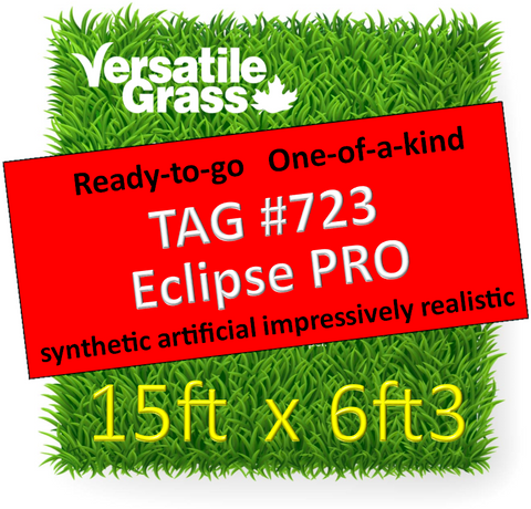 TAG#723 Eclipse PRO Synthetic Artificial Grass 15ft x 6ft3 SStor