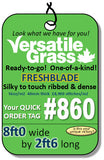 Tag #860 FreshBlade Synthetic Artificial Grass 8ft0 x 2ft6 SStor