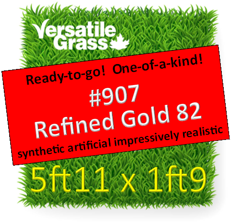 Piece #907 Refined Gold 82 5ft11 x 1ft9