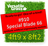 Piece #910 Special Blade 66 Synthetic Artificial Grass 4ft9 x 8ft2 Elm