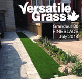TAG#398 Grandeur Fineblade 80 Synthetic Artificial Grass 6ft x 2ft9 Elm
