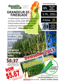 TAG#565 Grandeur 65 Synthetic Artificial Grass 15ft x 3ft6 Elm