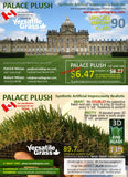 Piece #941  Palace Plush 90  Synthetic Artificial Grass 5ft3 x 3ft0  SStor