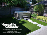 Piece #1249 Santa Monica 77  12ft10 x 4ft6 synthetic artificial grass SSTOR