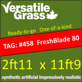 TAG#458 Grandeur Freshblade 80 Synthetic Artificial Grass 2ft11 x 11ft9 Elm