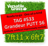 TAG#533 Grandeur PUTT 56 Synthetic Artificial Grass 7ft11 x 6ft7 Elm