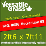 TAG#686 GreenThatch Recreation 68 Synthetic Artificial Grass 2ft6 x 7ft11 Elm