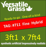TAG#711 FineBlade HYBRID Synthetic Artificial Grass 3ft1 x 7ft4 Elm