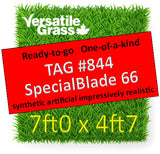 TAG# 844 Special Blade 66  Synthetic Artificial Grass 7ft x 4ft7 Elm