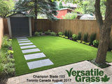 Piece #918 Champion Blade 103 Synthetic Artificial Grass 2ft3 x 5ft5 Elm