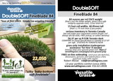 Piece #1061 DoubleSOFT Fineblade 84 1ft2 x 15ft8 synthetic artificial grass ELM