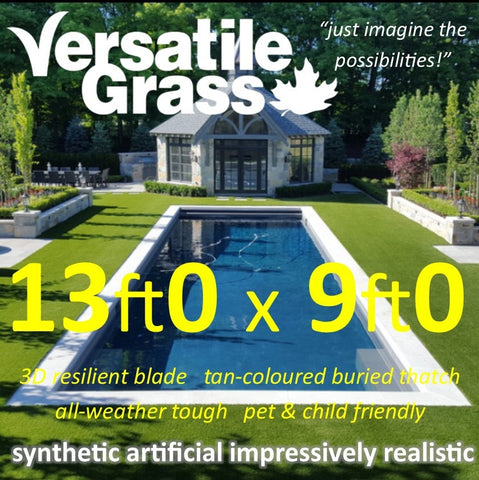 13ft x 9ft Multi Usage Synthetic Artificial Grass
