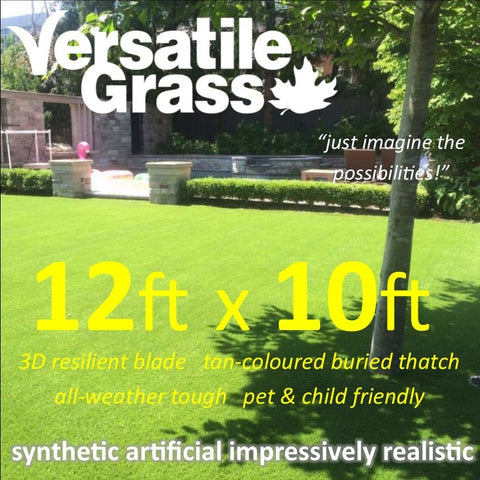 12ft x 10ft Multi Usage Synthetic Artificial Grass