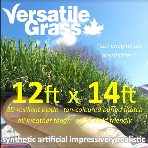 12ft x 14ft Multi Usage Synthetic Artificial Grass