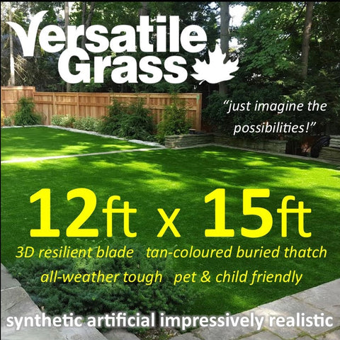12ft x 15ft Multi Usage Synthetic Artificial Grass