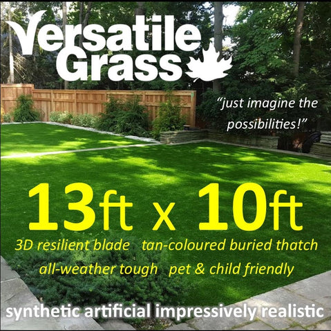 13ft x 10ft Multi Usage Synthetic Artificial Grass