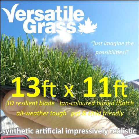 13ft x 11ft Multi Usage Synthetic Artificial Grass